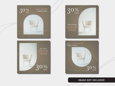 Free Elegant Furniture Social Media Post