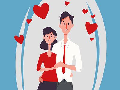 Couple st patrick st february 14 kiss hugs heart valentine holiday romance love lovers couple