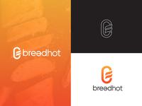 Breadhot Logo Concept design brand design icon corporate branding brandidentity modern logo desainlogo branding design logo logodesign