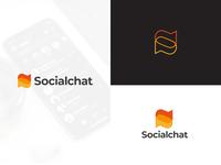 Socialchat Logo Concept brand identity branding icon corporate branding brandidentity desainlogo modern logo branding design logo logodesign