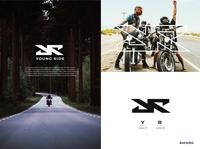 Young Ride Logo logo branding brand identity design corporate branding rider brand design desainlogo modern logo branding design logodesign