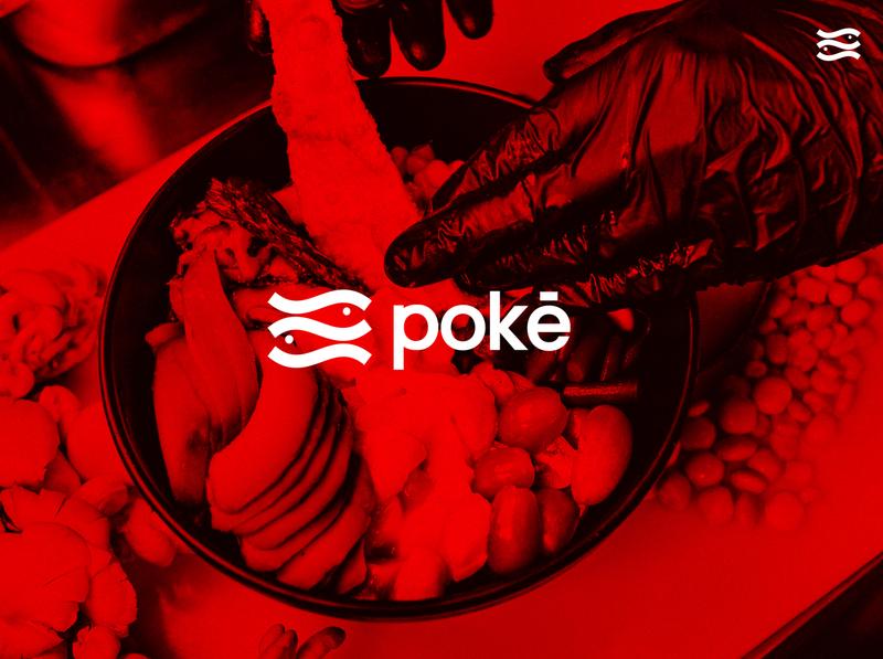Logo Design poke fish