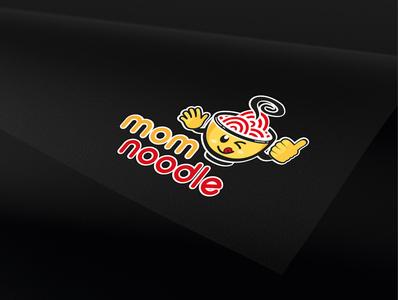 """Illustration Logo """"mom noodle"""""""
