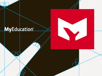 MyEducation.org logo red m y mongram negative space 1 0
