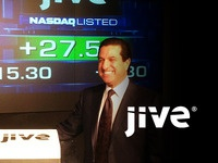 Jive Software Logo - Client goes IPO on NASDAQ today.