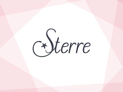 Sterre custom girl birth handlettering lettering