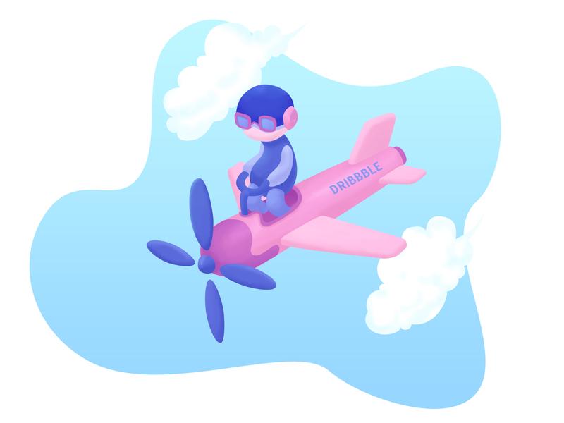 Illustration - Dribbble Pilot