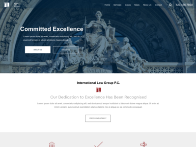 Attorney - Russo prototype local lawyer business attorney