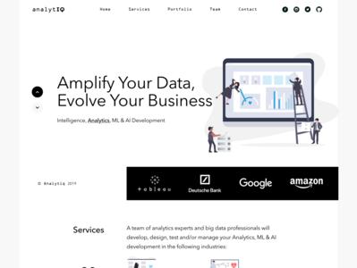 Consultancy - AnalytIQ consulancy prototype design lawyer business