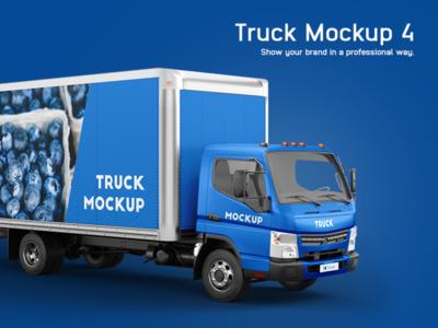 Mitsubishi Fuso Mockup Truck