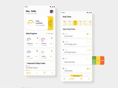 To do list Concept to do app to do list app design ui