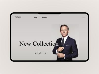 /Shop Website UX/UI Design 2020