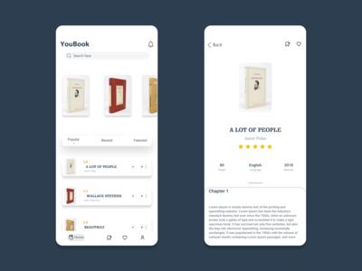 YouBook App Design