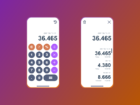 The Simple Calculator App Design