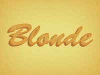Blonde - Descriptive Project