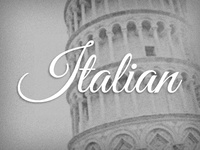 Italian - Descriptive Project