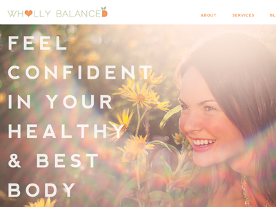 Wholly Balanced - Website