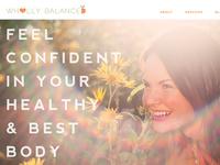 Wholly Balanced - Website