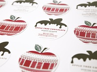 Apple Tree Chocolate Business Cards