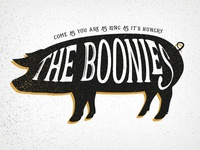 The Boonies - Logo Option 1