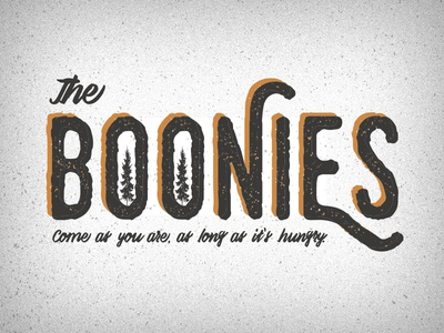 The Boonies - Logo Option 3