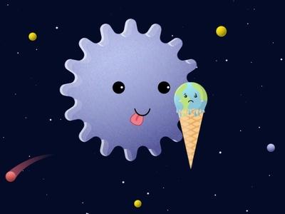 Coronavirus Character earth graphicdesign designing pandemic coronavirus corona digitalart minimal illustrator illustration flat design