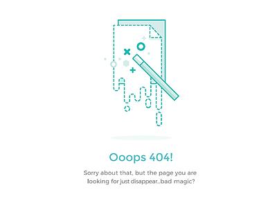 404 error shot