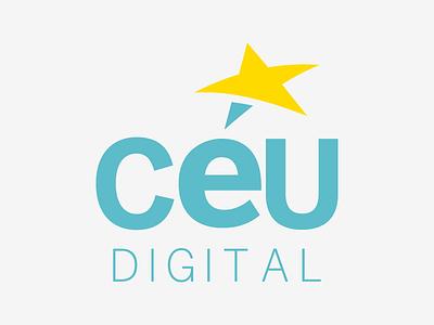 Logo Redesign clean design advertising agency sky typography brand rebranding logo design