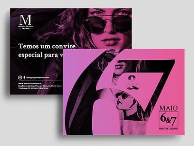 Direct Mail piece media print photo vector illustration typography graphic design design