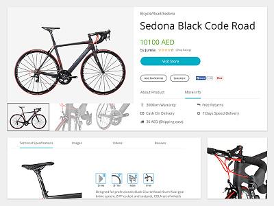 Product Page ui ux design inteface navigation tab website shop product webdesign e-commerce web app