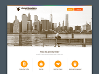 Youngfounders website
