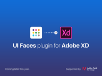 UI Faces plugin for Adobe XD