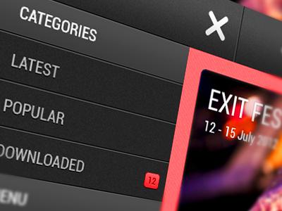 Android Side Navigation android side navigation menu ui list