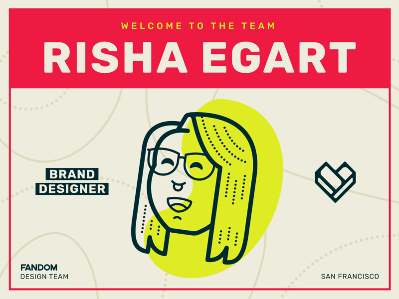 Welcome Risha Egart! character design avatar brand games illustration brand design fandom