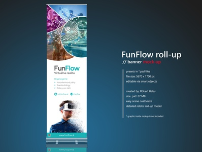 #FunFlow Roll-up Banner