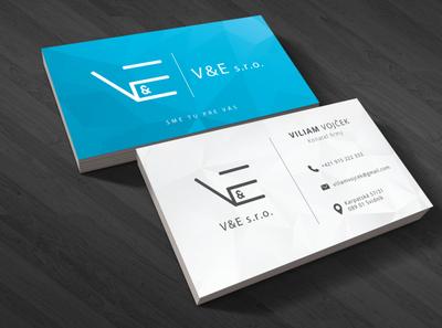 #V&E s.r.o. Business Card
