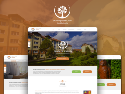 #Domov Pre Seniorov Webdesign
