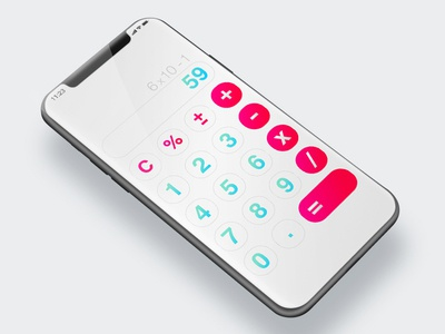 Calculator ux ui calculator dailyui004 dailyui charlotte challenge 004