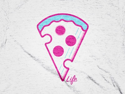 Pi Life T-Shirt pizza lover cotton bureau clothing shirt pizza life pi life pi pizza t-shirt