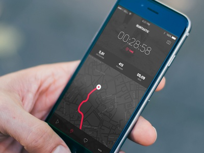 Runtastic - Walking & Fitness Tracker sport app route crossfit kiev medicine run walk tracker fitness health mobile ukraine