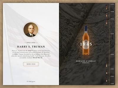 Old Liquors armagnac cognac liquors whisky scotch ukraine web design alcohol uiux spirits