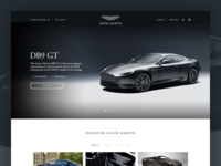 Aston Martin - Website