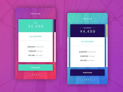 Pricing uiux startup pricing marketing gradients faq calculator
