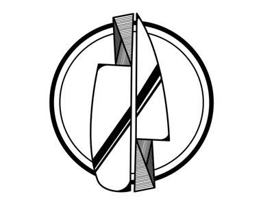 Knife Logo design illustration vector minimal logo logo design
