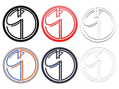SD Monogram styling typography logo vector monogram branding design