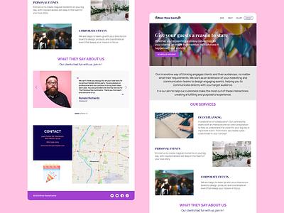 Web Design for Event Management ceremony website design web design website web user experience ux ui event management event