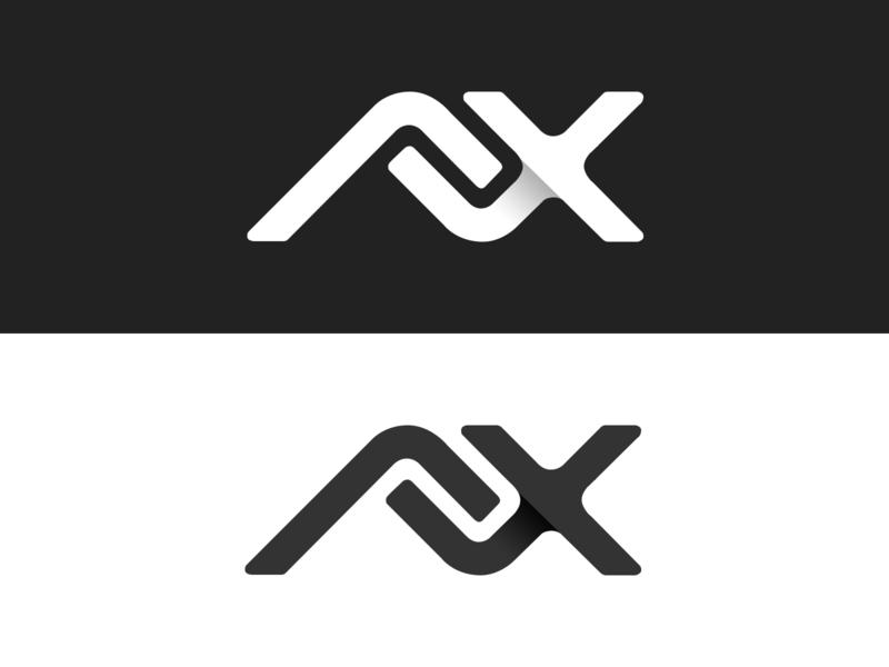 ALX Logotype design branding logo