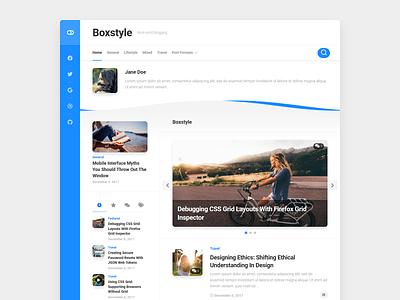 Boxstyle WordPress Theme free wordpress theme blog wordpress responsive