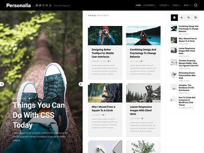 Personalia WordPress Theme magazine blog wordpress theme wordpress responsive