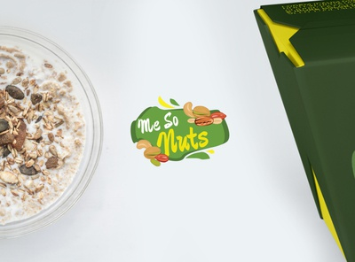 Me So Nuts - Brand Identity Design and Packaging